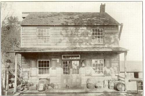 Buhrman's General Store at the Alley circa 1910